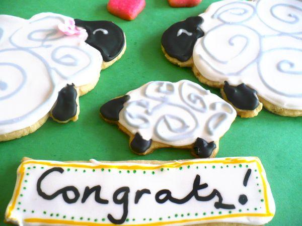 Congratulation Sugar Cookies Clockwork Lemon