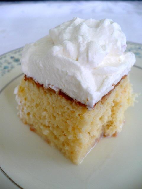 Tres Leches Cake Clockwork Lemon
