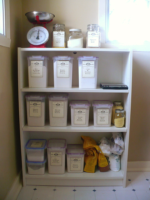 The Area Went From Frustrating To A Very Organized And Functional Baking  Station. The Total Cost Was Around Fifty Dollars For The Bookcase (although  You Can ...