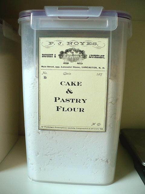 Flour Storage Before And After Clockwork Lemon