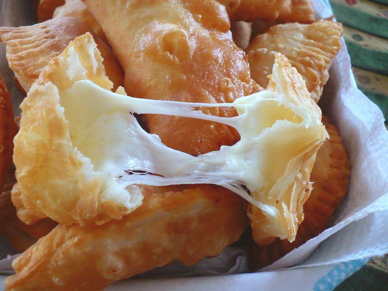 Cheese filled empanada