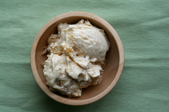 Pineapple-Banana Brown Sugar Frozen Yogurt