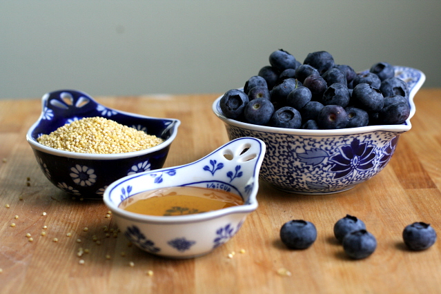 Blueberries Millet and Honey