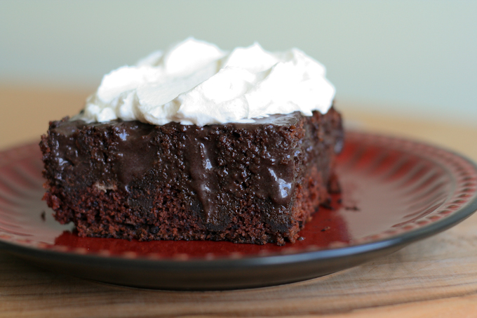 Chocolate Poke Cake-2