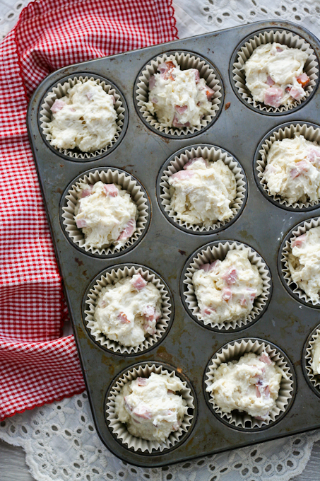 Ham and Swiss Muffins {Clockwork Lemon}