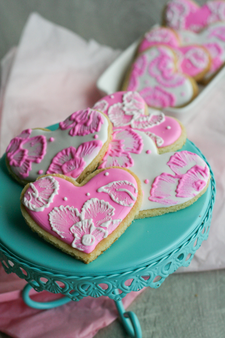 Brush Embroidery Sugar Cookies 24