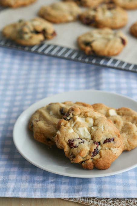 Cranberry & White Chocolate Brown Butter Cookies-8