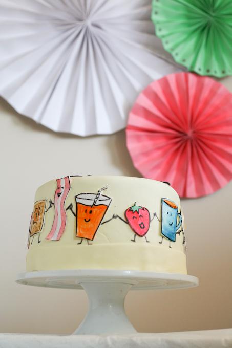 Happy Breakfast Cake-7