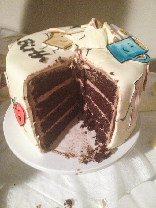 Happy- Breakfast Cake-7
