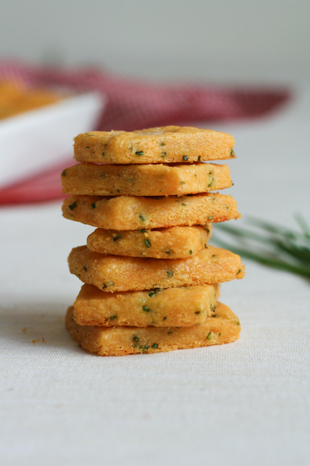 Cheddar and Chive Crackers {Clockwork Lemon}-17