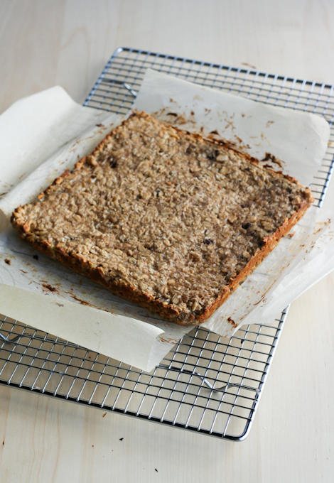 Peanut Butter Banana Bread Bars-15
