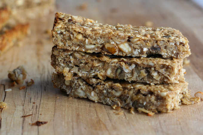 Peanut Butter Banana- Bread Bars-7