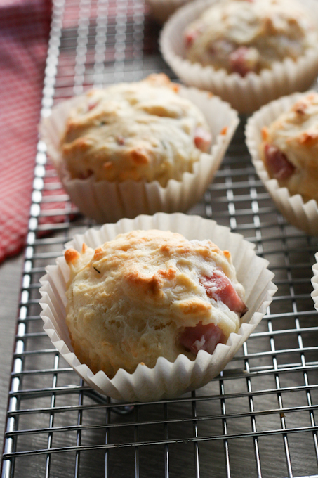 Ham and Swiss Muffins {Clockwork Lemon}-14