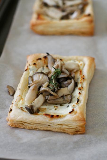 Oyster Mushroom Tart-23