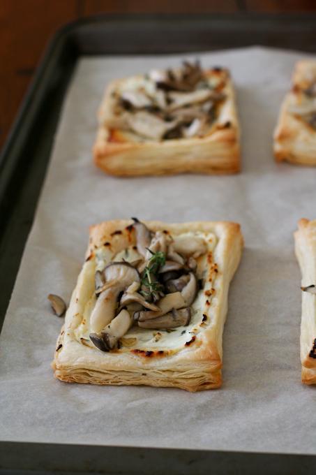 Oyster Mushroom Tart-24