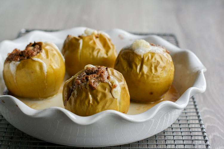 Baked Cream Cheese Apples-19