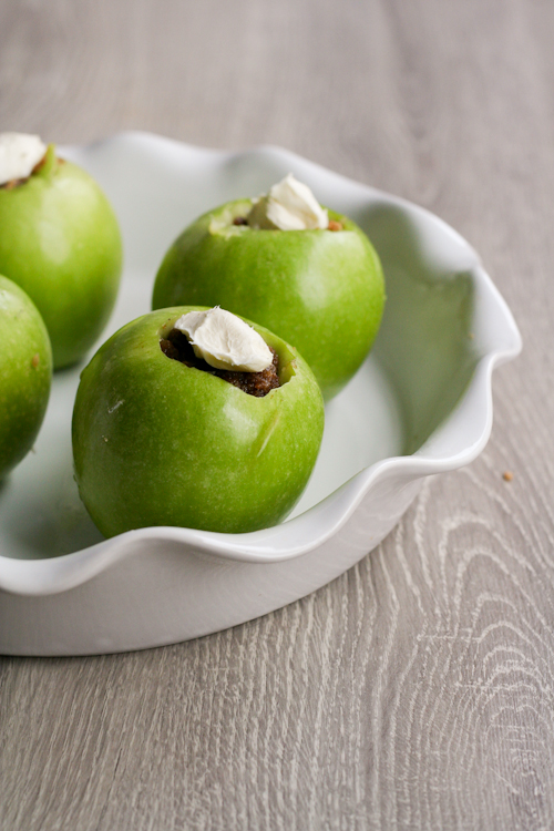 Baked Cream Cheese Apples-12