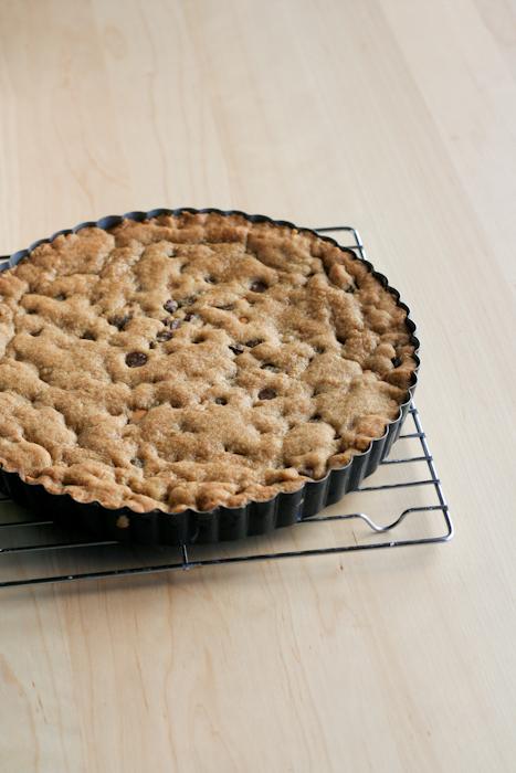 Chocolate Chip Cookie Tart-7