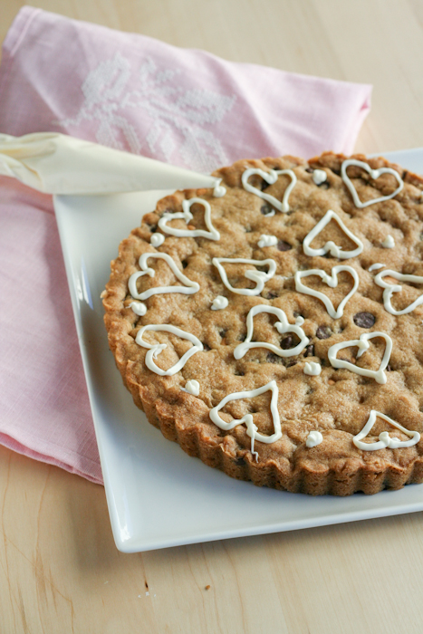 Chocolate Chip Cookie Tart-10