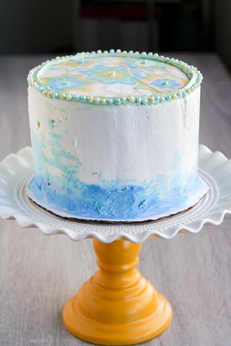 Buttercream cake-25