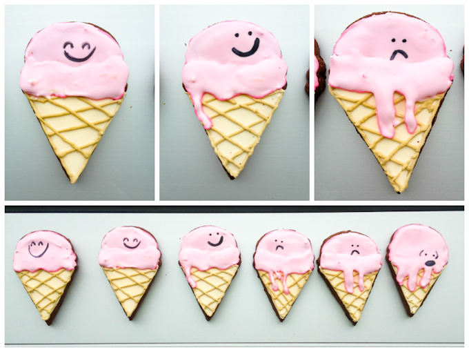IceCream Cone Cookies-1-2