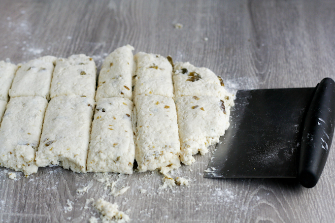 Cream cheese and candied jalapeno scones-8
