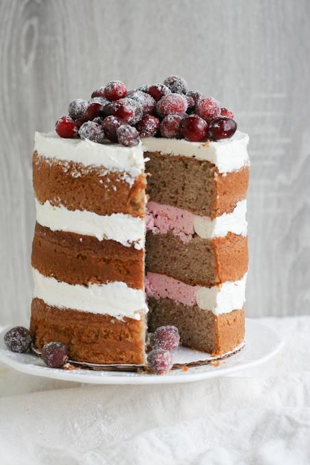 Naked cranberry spice cake-18