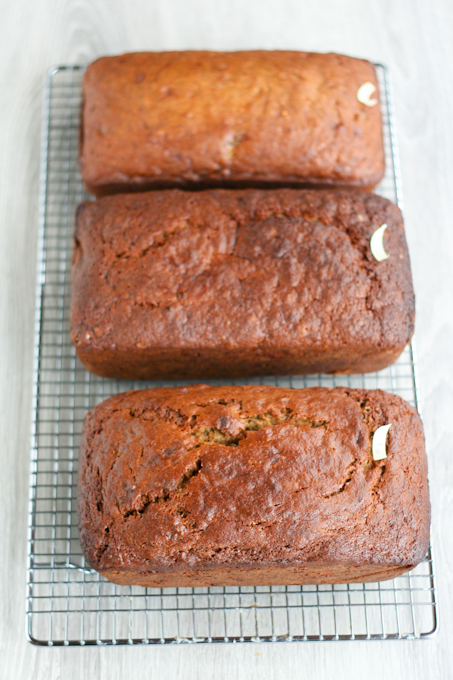 Recipe showdown banana bread clockwork lemon banana bread recipes on the internet it wasnt easy baking tasting re tasting and re re tasting the bread but we powered through so that everyone forumfinder Images