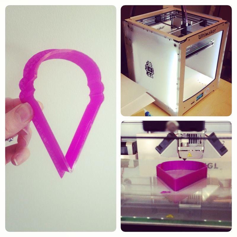 3d printer cookie cutter