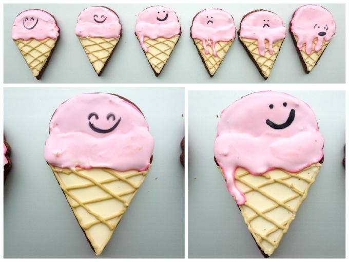IceCream Cone Cookies-2